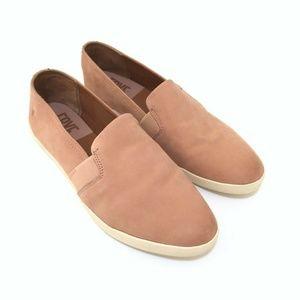 Frye Melanie Slip On Shoes Sz 9 Pink Blush Sneaker